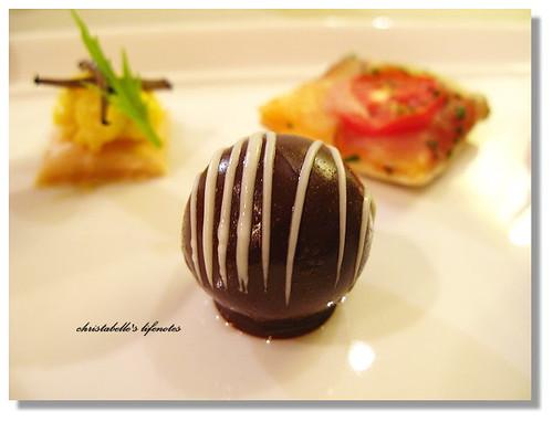 curtis stone's raspberry sorbet choco