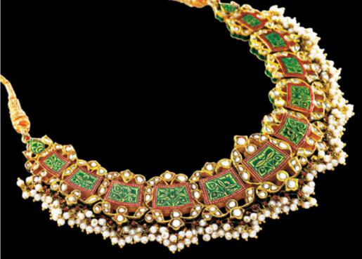Tanishq Collections Kundan Polki Gallery