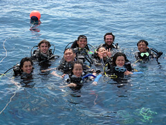 Happy (qualified) Open Water Divers!