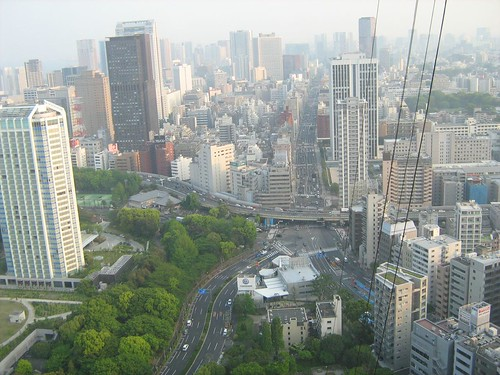 View From Top Of Tokyo Tower 2