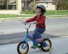 Abi Riding Bike