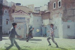 football (robatuparte.tumblr.com) Tags: square football morocco chef fujica chouen filmisnotdead
