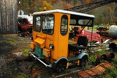 Durbin, WV. (extra156west) Tags: railroad train fairmont speeder motorcar mt19 durbin narcoa