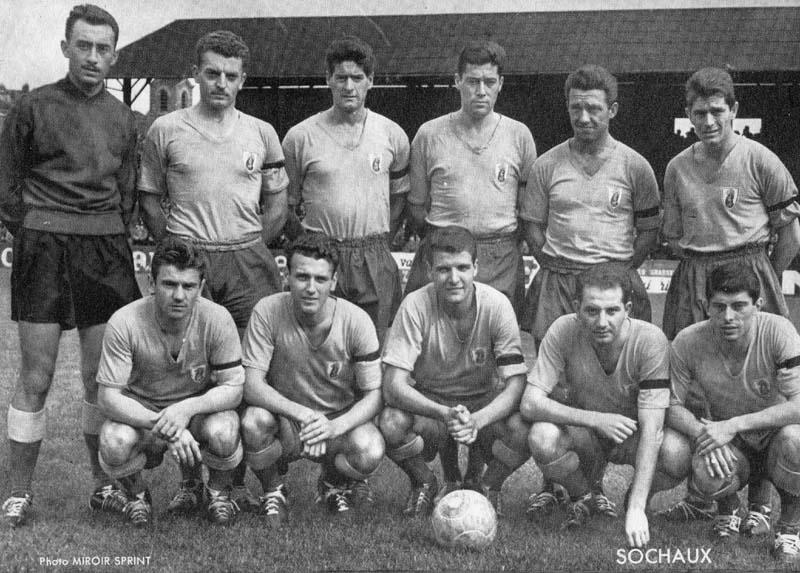 sochaux 1957-58
