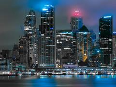 cbd (bart.kwasnicki) Tags: sydney skyline skycrapers skycraper cityscape australia nightscape longexposure