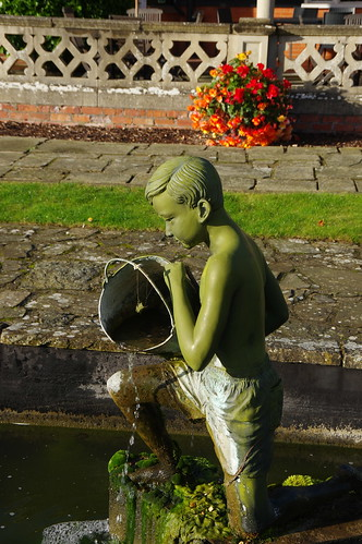 Boy with Bucket Fountain
