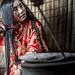 afghanistan, Pamir, kyrkyz girl