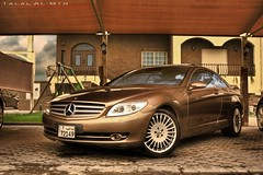 Mercedes CL500 (Talal Al-Mtn) Tags: auto cars car bronze canon mercedes benz flickr shot group mercedesbenz motor kuwait 500 cl v8 talal amg q8 bronz kwt cl500 450d canon450d inkuwait mercedescl500 kwtmotor almtn talalalmtn