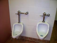 1950s urinal (jasonwoodhead23) Tags: water montana plumbing sanitary urinal