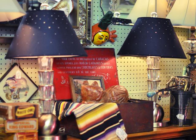vintage deco lamps