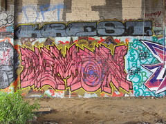 DEMON / KREST (Same $hit Different Day) Tags: graffiti bay san francisco area demon sb kno