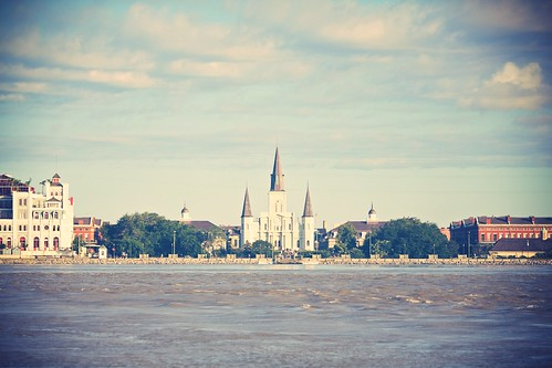 Saint Louis Cathedral from the Algiers Point Ferry (135)