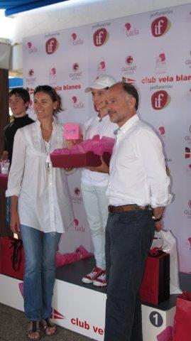 Natalia y Kubrat con los campeones