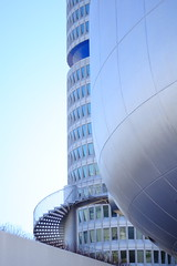BMW Tower (Xtraphoto) Tags: blue tower museum canon munich mnchen eos bmw architektur turm gebude 30d