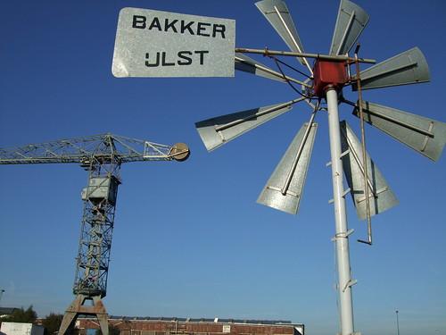 Windmill, NDSM, Amsterdam