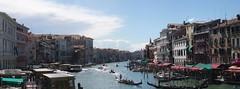 Canale Grande (chmeermann   www.chm-photography.com) Tags: italien venice italy panorama sunshine clouds nikon wolken bluesky olympus venedig blauerhimmel sonnenschein canalegrande