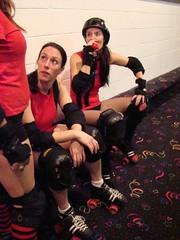 Charm City Roller Girls (Holly Baranowski) Tags: championship rollerderby 2007 charmcityrollergirls mobtownmods nightterrors speedregime junkyarddolls
