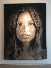 Chuck Close Tapestries at the Adamson Gallery (cityflickr) Tags: art modern dc washington artist gallery close image contemporary wdc chuck chuckclose katemoss tapestry tapestries moder photorealistic adamson jacquard