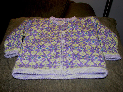 Dale Baby Sweater