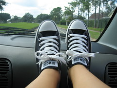Audrey's Converse All-Stars