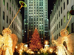 Christmas at Rockefeller Center, New York City, New York (kruhme) Tags: christmas newyorkcity light wallpaper usa ny newyork weihnachten navidad luces edificios rockefellercenter fondo estadosunidos fondodeescritorio rascacielos hintergrundbilder lichten vereinigtestaaten manhattanchristmas