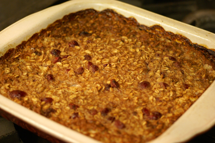 GF Oatmeal Breakfast Bars
