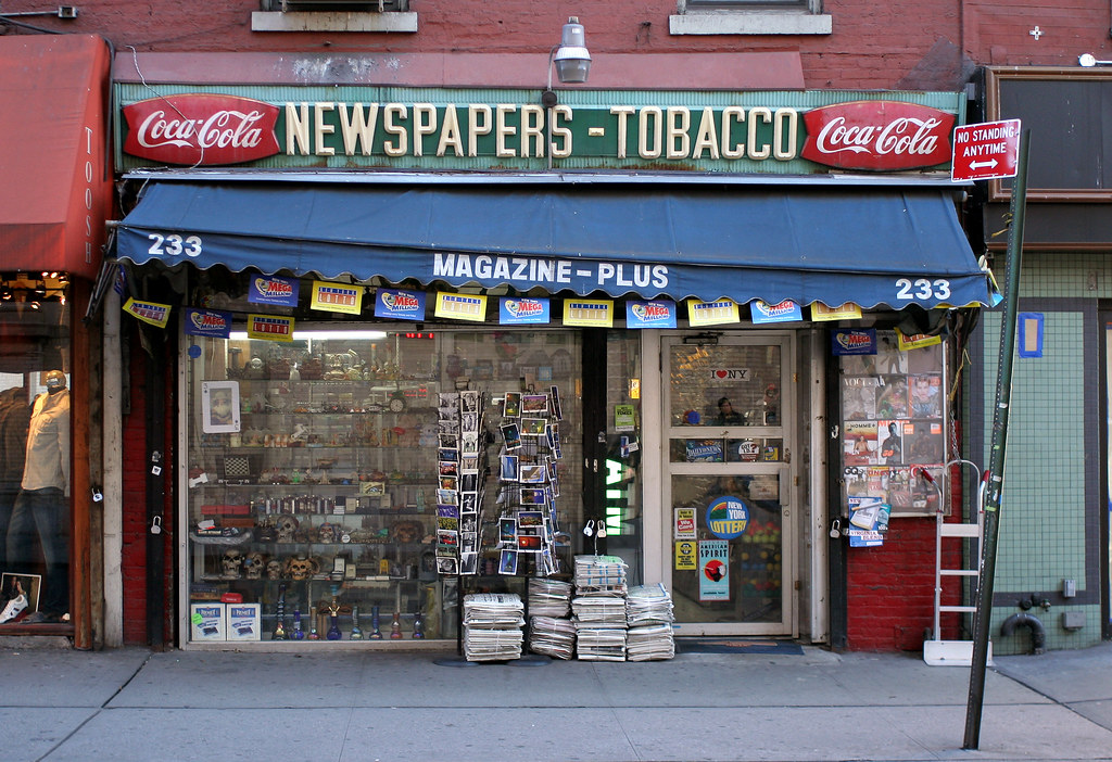 Newspapers - Tobacco