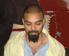 Hawah Meditating in India (2007)