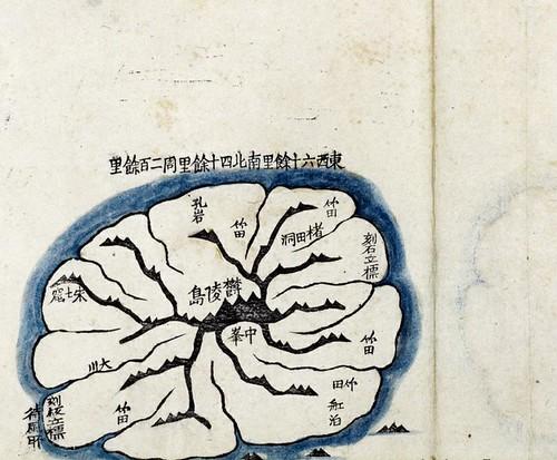 1861 - Daedong Yeojido - Ulleungdo