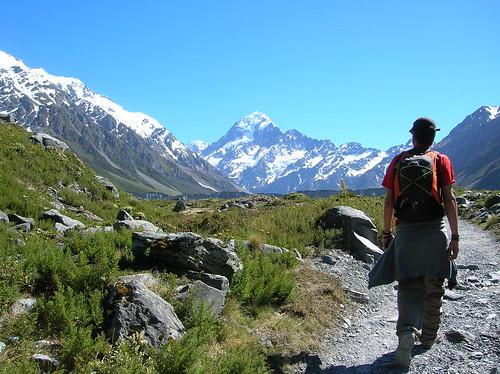 Caminando entre montanyas