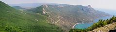 Crimea, Laspi bay (yuriye) Tags: sea mountain bay russia cape crimea blacksea крым бухта laspi ласпи yuriye sarych сарыч