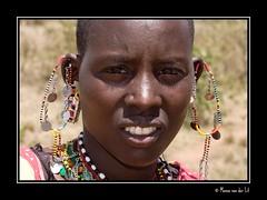 Maasai portrait... (Manon van der Lit) Tags: africa travel portrait people woman face canon kenya mara afrika 5d kenia masai maasai afrique masaimara portraitaward africamyafrica manonvanderlit