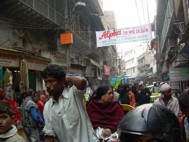 India - Delhi - 045 - Busy streets of Old Delhi