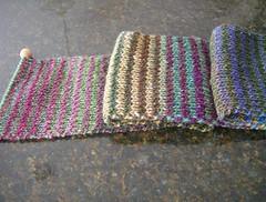 Noro-ish striped scarf