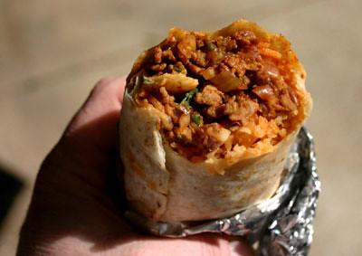 Taqueria La Poblana - Al Pastor Burrito
