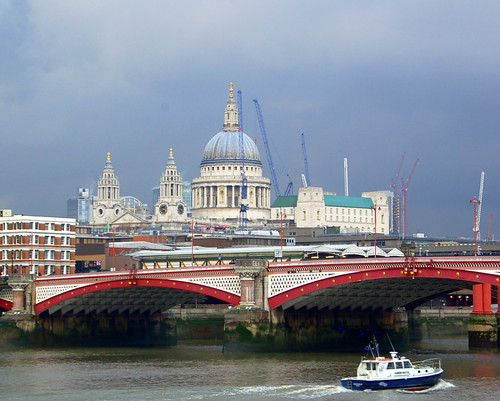St. Paul's and Blackfriars Bridge