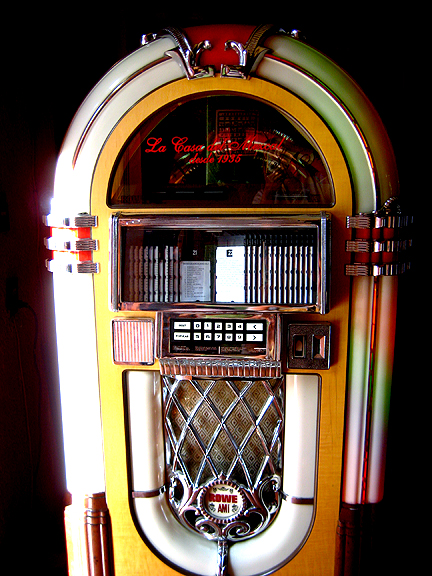 Jukebox in Oaxacan Mezcal Bar