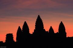 The colors of dawn - Angkor Wat, Cambodia
