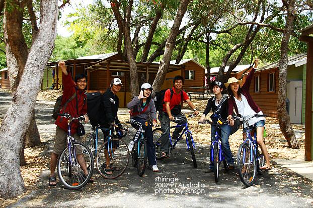 騎bike環Rottnest Island