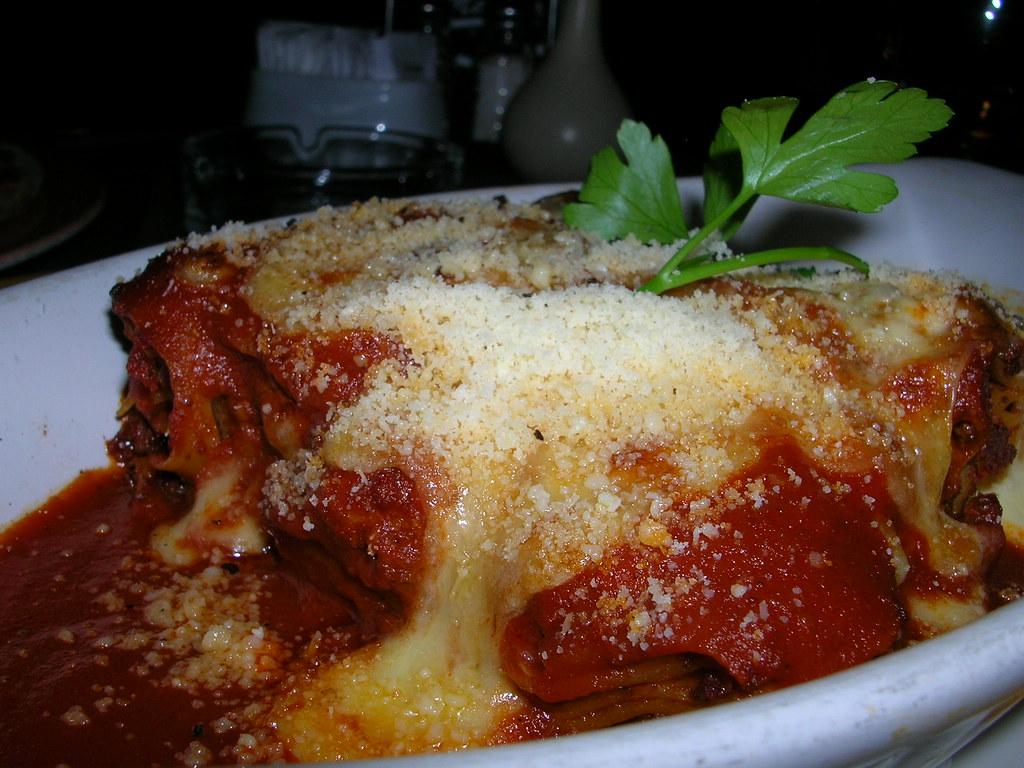 Lasagne @ Mario's