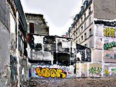 Urban decay (Margnac) Tags: streetart paris france graffiti digitalart graff fresque contemporaryrealism margnac artnumérique photographeplasticien