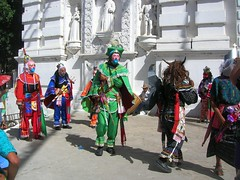 La Ferria, traditional dancing and masks