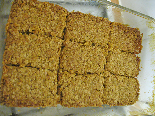 finished flapjacks