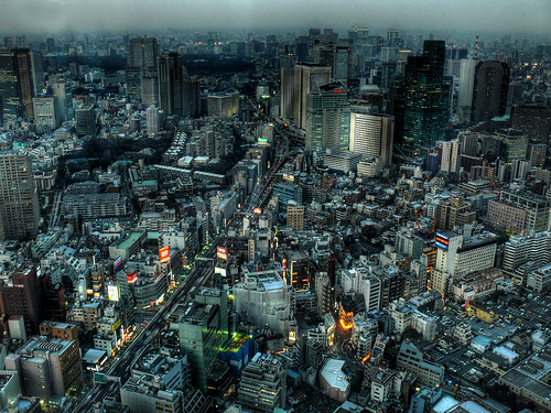Tokyo from Mori Tower