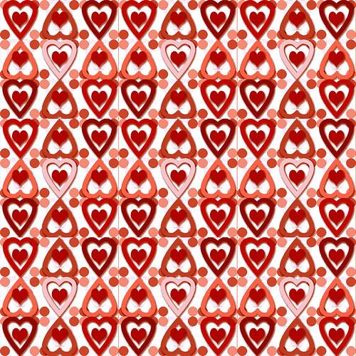picture of valentine heart. Valentine Heart Pattern #1B