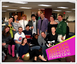 The Quicken Loans Marketing Team gets into Spirit Week with 80's Day!