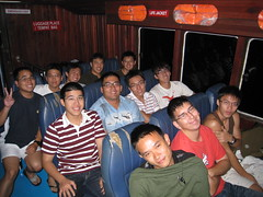 Night ferry from Mersing to Pulau Aur
