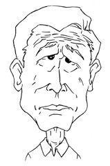 Bush Caricature 1b