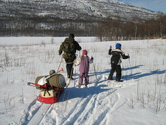 On the way to icefishing