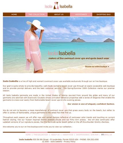 Isola Isabella - BEFORE